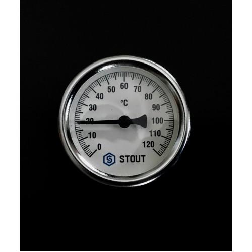Термометр биметалический 120 градусов