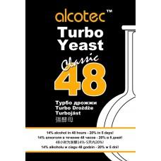 Спиртовые дрожжи ALCOTEC 48 YEAST 135 гр